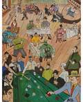 KIRILL MIKHAILOVICH ZDANEVICH RUSSIAN 18921969 V kabake In the Tavern