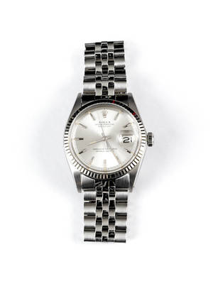 Mans Rolex wrist watch with Oyster perpetual date
