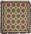 Pennsylvania fourcolor jacquard woven coverlet