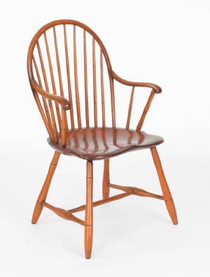 Philadelphia windsor armchair ca 1790
