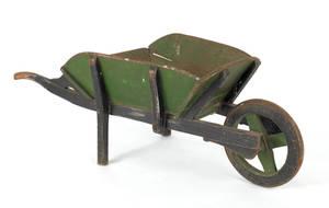 Childs painted wheelbarrow