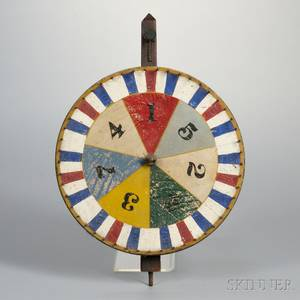 Painted Wheel of Fortune Gaming Wheel
