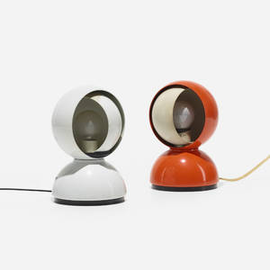 Vico Magistretti   Eclisse table lamps pair