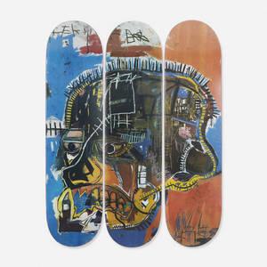 JeanMichel Basquiat   skateboard decks set of three