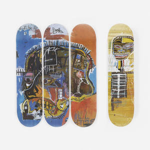 JeanMichel Basquiat   skateboard decks set of four