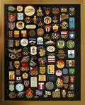 OLYMPIC LAPEL PIN COLLECTION POST WWII 75 PCS