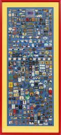 2000 SIDNEY OLYMPIC MEDIA LAPEL PIN COLLECTION