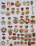 USSR ENAMEL MEDAL COLLECTION ETC