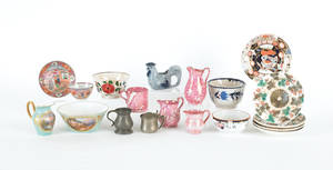 Miscellaneous group of pottery and porcelain to include Wedgwood
