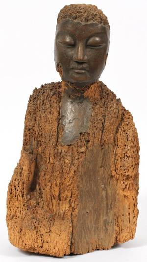 CHINESE CARVED WOOD SCULPTURE ANTIQUE