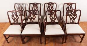 Chippendale Dining Chairs Set