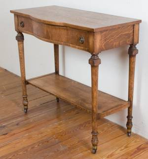 Quarter Sawn Oak Server C1900