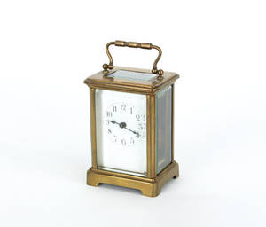 H  H French carriage clock