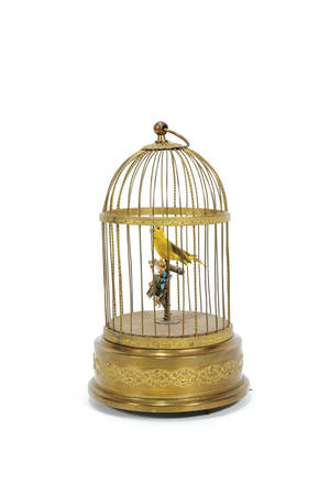 French singing bird automaton