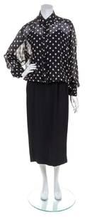 A Moschino Black Silk Dress