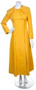 A La Flaque de Paris Mustard Canvas Coat
