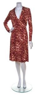 A Diane von Furstenberg Silk Wrap Dress