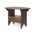 Poplar chair table
