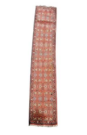 Hand Woven Persian Bidjar Runner 2 3 x 13