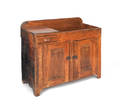 Painted pine dry sink