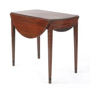 Baltimore Hepplewhite mahogany Pembroke table ca 1795