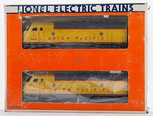 Lionel Union Pacific F3A Powered  Dummy Locomotive