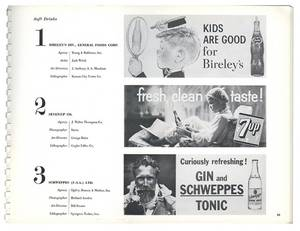 Three Advertising Poster Related Publications