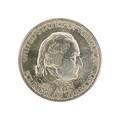 Us 1927 vermont commemorative 50c coin