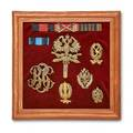 Russian military medals and insignias