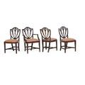 George iii style mahogany dining chairs