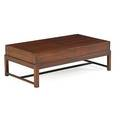 English mahogany gun case low table