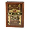 Sauers flavoring extracts cabinet