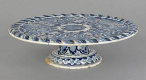 Dutch Delft tazza 18th c