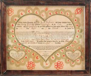 Johann Friederich Krebs Southeastern Pennsylvania late 18thearly 19th c