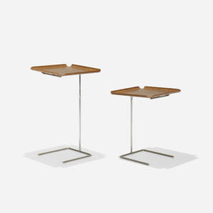 George Nelson  Associates   tray tables model 4950 pair