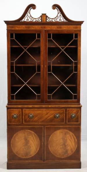 BAKER FURNITURE CO MAHOGANY CABINET EARLY 20TH C