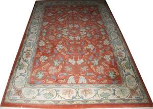 INDIAN ORIENTAL STYLE HANDWOVEN RUG