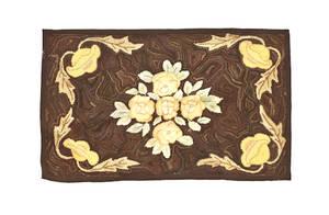 Three American hooked rugs