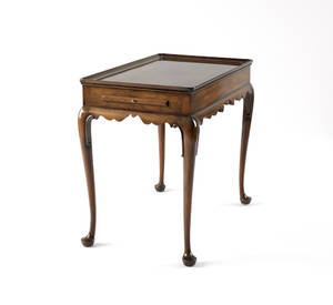 Kittinger mahogany tea table