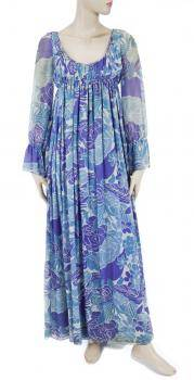 JOANNE CARSON PIERRE CARDIN MAXI DRESS