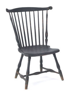Pennsylvania fanback windsor chair late 18th c