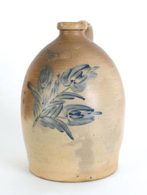 HB Pfaltzgraff York Pennsylvania stoneware jug 19th c