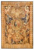 A Louis XVI Style Wool Tapestry