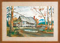 Watercolor landscape signed  GG Kennedy 1967