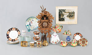 Collection of porcelain to include Royal Crown Derby