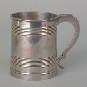 Philadelphia silver cann ca 1820