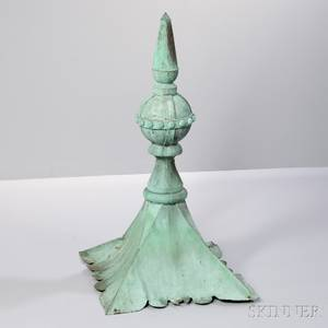 Sheet Copper Architectural Finial
