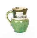 Pisgah Forest cameo pottery pitcher by WB Stephen