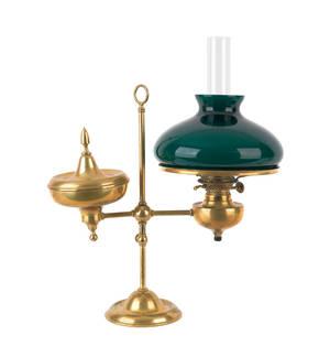 Bradley  Hubbard brass student lamp