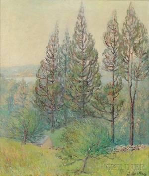 John M Buckley American 18911958 Cape Ann Landscape
